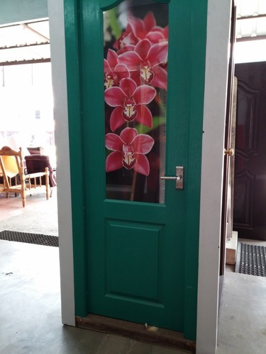 Frp Bathroom Doors With Glass Designs At Rs 6500 Pieces