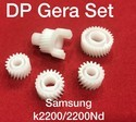 Samsung K2200 Developing Assembly Gear ( Set Of 5pcs) For Printing Industry