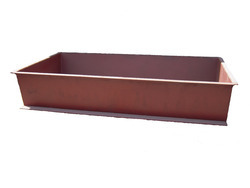 Rectangular Jaggery Cooking Pan