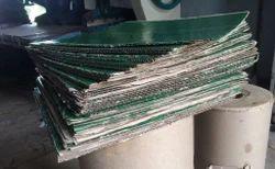 Brown Kraft Material Buffet Plate Raw Material