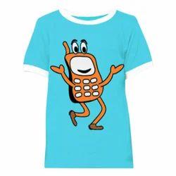 Cartoon Printed Kids T-Shirt