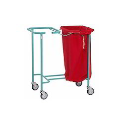 Solid Trolley Trolley with Plastic Bucket