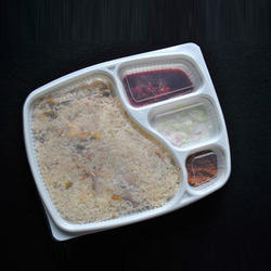 Plastic Biryani Packaging Tray