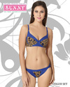 Sunny Cotton Bra Panty Set, Size: 36a And 34b