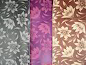 Flower Printed PVC Coated Fabric