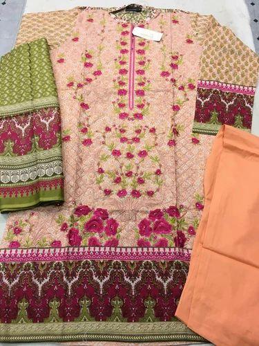 30f25999b7 Bin Saeed Original Pakistani Suit at Rs 3000 /piece | Pakistani Lawn ...