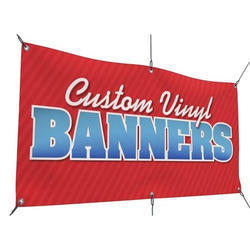Customized Vinyl Banners Printing Service