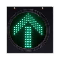 Green Round Traffic LED Lights