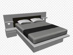 Designer Steel Bed