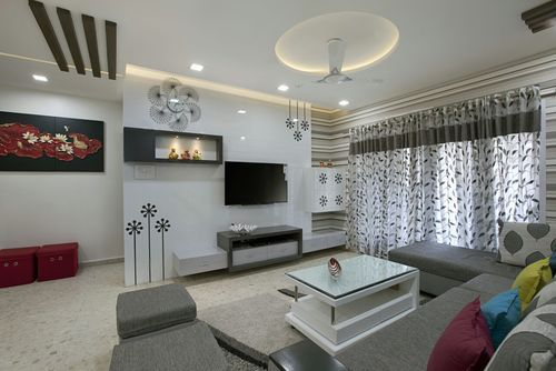 Residential Flat Interior Designing And Contract