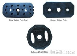 Commercial Fitness Gym Plates & 2-Cut plate, for Strength, Weight: 2.5- 25 Kg