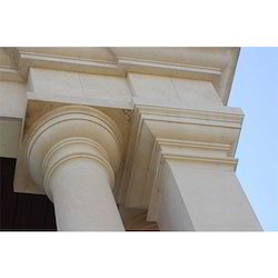 Polished Stone Pillars