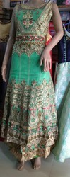 4 Colours Embroidered Readymade Long Dress