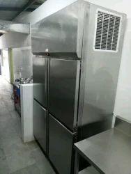 SS Four Door Refrigerator
