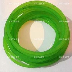 Green Rough Surface PU Industrial Round Belt