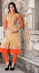 Sparkle Cotton Silk Designer Kurtis