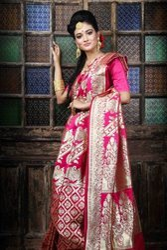 Silk Party Wear Banarasi Saree