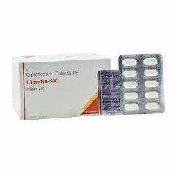 Ciprofloxacin 500 mg Tablet