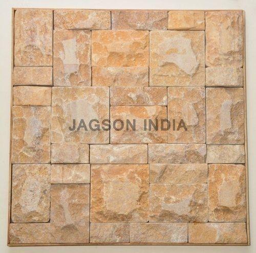 Stone Wall Cladding - Black Slate Cladding Tile Exporter from Gurgaon