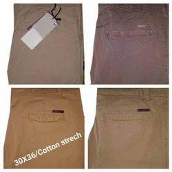 Mens Cotton Stretch Pants