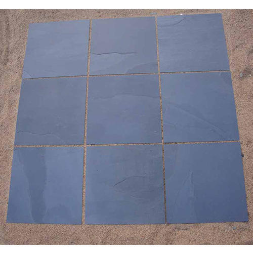 Blue Slate Stones Tiles, Thickness: 10-45 mm