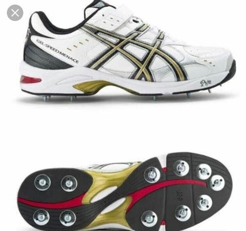 53a28e34a5d905 Men Asics Gel Speed Menace Cricket Shoes