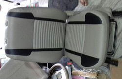 Rexin Red Car Seats Covers