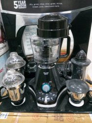 Black PHILIPS Mixer Grinder, For Wet & Dry Grinding, 300 W - 500 W