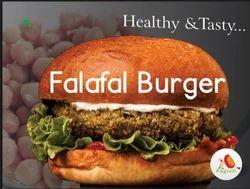 Falafel Burger Patty Channa Tikki