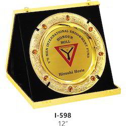 Premium Golden Plaque