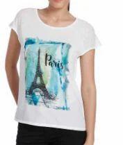 Vero Moda T Shirt With Paris Print