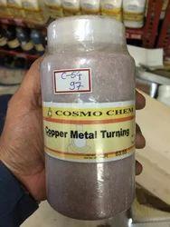 Copper Metal Turnings