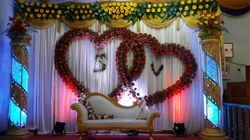 Stage flower decoration services in chennai flower decoration junglespirit Gallery