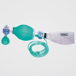 Green Child Silicone Resuscitator