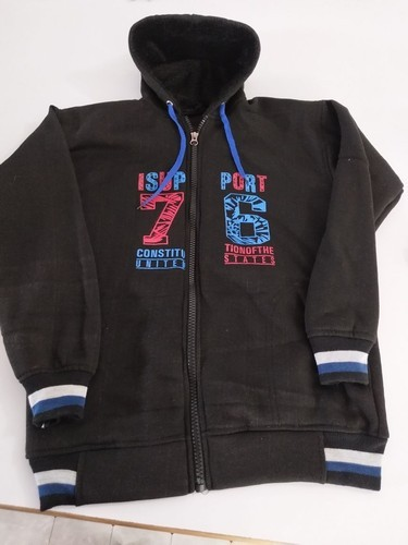 a94ebe1fd Fanideaz Men''s Cotton Plain Zipper Hoodies Jacket at Rs 1 /piece ...