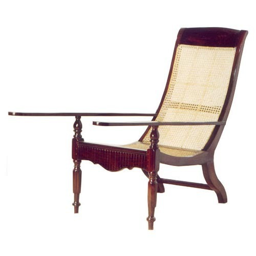 Brown Wood Antique Easy Chair For Hotels - Brown Wood Antique Easy Chair For Hotels, Collectors Corner ID