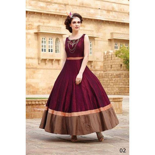 85caab3c100 Ethnic Wedding Ladies Fancy Gown, Rs 2000 /piece, Aafia Collection ...