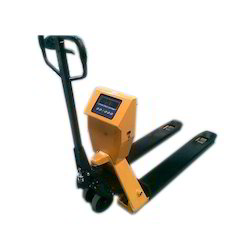 Weigh Scale Hydraulic Hand Pallet Truck
