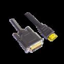 DVI- HDMI 19 PIN Male