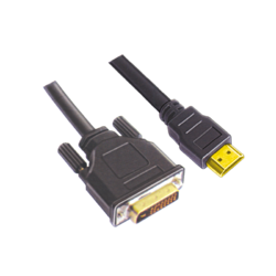 DVI- HDMI 19 PIN Male