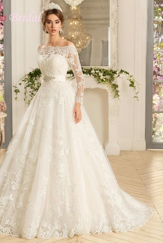 8866d691447 Christian Net Fancy Wedding Gown