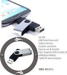 USB Flash With Pen Drive