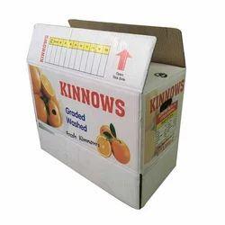 3,5,7普利白色定制印花Kinnows包装瓦楞纸箱