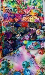Velvet Digital Print Fabric