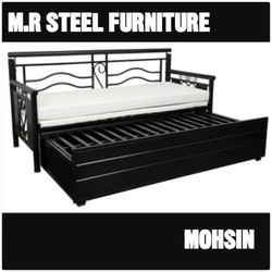 Mild Steel Sofa Cum Bed