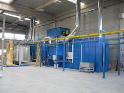 Conveyorized Powder Coating Plants
