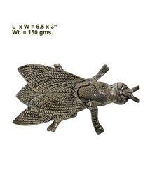 Fly White Metal Ash Tray