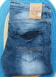 Comfort Fit Casual Wear, Party Wear Blue Arrogant Jeans