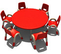 Round Table For Playschool Kids