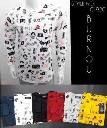 Full Sleeve full Printed T-Shirt